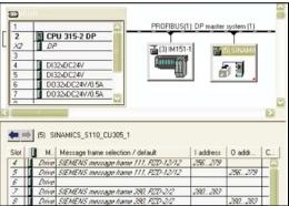 Sinamics S110 – pozycjonowanie w trybie MDI